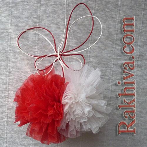 Оригинални идеи за мартеници от панделки, ленти, материали за опаковане
