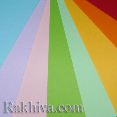 цветен картон
