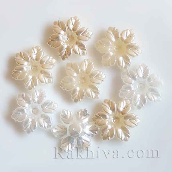 цветя с перлено покритие