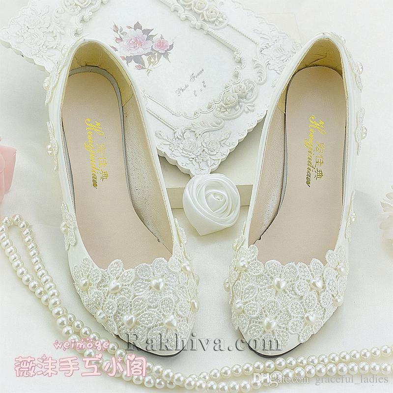 Как се прави декорация на сватбени обувки с перли и дантела